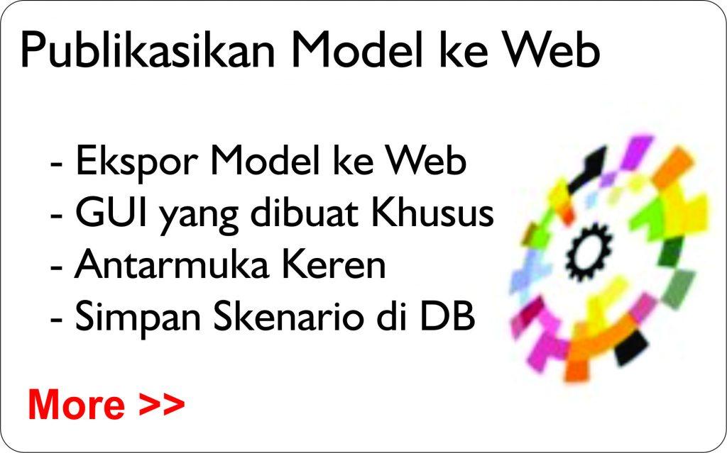 Publikasikan Model ke web